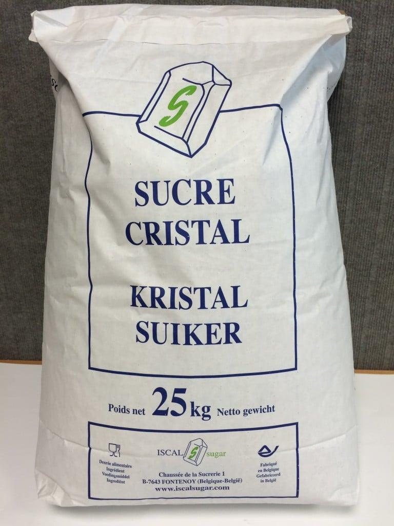sucre cristal grain moyen