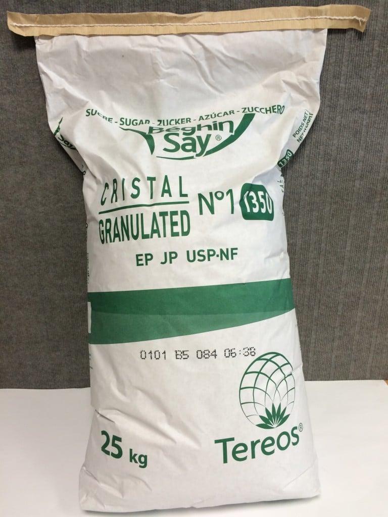 sucre cristal sac 50 kg